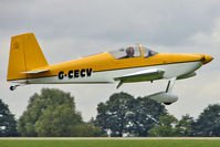 G-CECV @ EGBK - 2006 Stevens Dm VANS RV-7, c/n: PFA 323-14338 at 2010 LAA National Rally