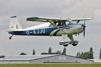 G-AJJU @ EGBK - 1946 Luscombe Airplane Corporation LUSCOMBE 8E, c/n: 2295 at 2010 LAA National Rally