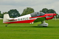 G-AYLC @ EGBK - 1964 Centre Est Aeronautique JODEL DR1051 (MODIFIED), c/n: 536 at 2010 LAA National Rally
