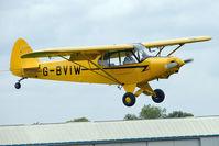 G-BVIW @ EGBK - 1965 Piper PIPER PA-18-150, c/n: 18-8277 at 2010 LAa National Rally