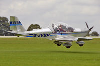 G-JVBP @ EGBK - 2006 Cosmik Aviation Ltd EV-97 TEAMEUROSTAR UK, c/n: 2730 at 2010 LAA National Rally