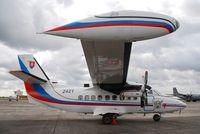 2421 @ LFBC - Let L-410UVP-E Turbolet Slovakia - Air Force  Cazaux Air Force base - by Jean Goubet/FRENCHSKY