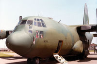 74-1676 @ MHZ - C-130H Hercules of 463rd Tactical Airlift Wing at Dyess AFB on display at the 1984 RAF Mildenhall Air Fet. - by Peter Nicholson
