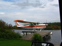 C-FUFE - Picture of Cessna 182F on lake - by David Gerrow