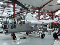 WG719 - Westland WS-51 Dragonfly HR5 at the Helicopter Museum, Weston-super-Mare