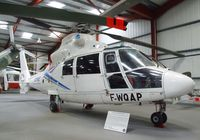 F-WQAP - Aerospatiale SA.365N Dauphin II at the Helicopter Museum, Weston-super-Mare