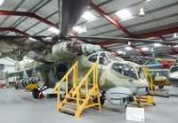 96 26 - Mil Mi-24D Hind at the Helicopter Museum, Weston-super-Mare