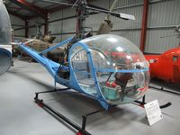 G-ASTP - Hiller UH-12C at the Helicopter Museum, Weston-super-Mare