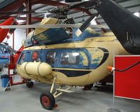 SP-SAY - Mil (PZL-Swidnik) Mi-2 Hoplite at the Helicopter Museum, Weston-super-Mare