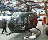 81 00 - MBB Bo 105M at the Helicopter Museum, Weston-super-Mare - by Ingo Warnecke