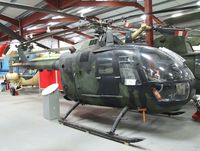 81 00 - MBB Bo 105M at the Helicopter Museum, Weston-super-Mare