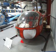 OO-SHW - Bell 47H-1 at the Helicopter Museum, Weston-super-Mare