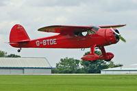 G-BTDE @ EGBK - 1940 Cessna CESSNA C-165, c/n: 551 at 2010 LAA National Rally