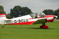 G-BCLU @ EGBK - 1957 Societe Aeronautique Normande JODEL D117, c/n: 506 at 2010 LAA National Rally