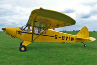 G-BVIW @ EGBK - 1965 Piper PIPER PA-18-150, c/n: 18-8277 at LAA National Rally