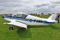 G-FARR @ EGBK - 1966 Societe Aeronautique Normande JODEL D150, c/n:  at 2010 LAA National Rally