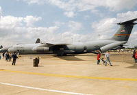 63-8085 @ MHZ - C-141B Starlifter of 452nd Air Mobility Wing at March AFB on display at the 1995 RAF Mildenhall Air Fete. - by Peter Nicholson