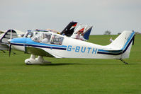 G-BUTH @ EGBK - 1966 Centre Est Aeronautique CEA DR220, c/n: 6 at 2010 LAA National Rally