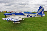 G-JFRV @ EGBK - 2004 Fisher J VANS RV-7A, c/n: PFA 323-13851 at 2010 LAA National Rally