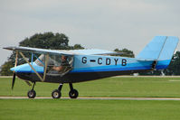G-CDYB @ EGBK - Microlight at Sywell 2010 LAA National Rally