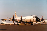 160610 @ MHZ - P-3C Orion of Patrol Squadron VP-44 on display at the 1984 RAF Mildenhall Air Fete. - by Peter Nicholson