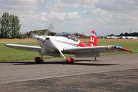 G-CCZD @ EGBR - Vans RV-7 at Breighton's Summer Madness & All Comers Fly-In in August 2010. - by Malcolm Clarke