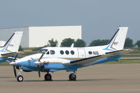N16 @ AFW - FAA King Air at Alliance Airport, Fort Worth, TX