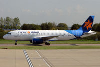 4X-ABF @ EGGW - Israir A320 at Luton - by Terry Fletcher