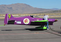 C-FDXO @ KRTS - Race #9 Miss t'witchie is a 2005 Cassutt CASSUTT 3M being refueled after mid-morning Formula #1 heat @ 2009 Reno Air Races - by Steve Nation