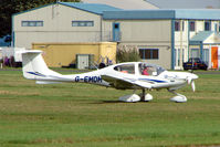 G-EMDM @ EGTK - 2000 Diamond Aircraft Industries Gmbh DA40, c/n: 40 at Kidlington