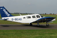 G-BEAG @ EGTK - 1976 Piper PIPER PA-34-200T, c/n: 34-7670204 at Kidlington
