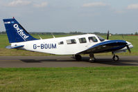G-BOUM @ EGTK - 1976 Piper PIPER PA-34-200T, c/n: 34-7670136 at Kidlington