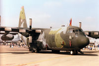 89-1186 @ EGVA - C-130H Hercules, callsign Music 86, of 105th Airlift Squadron Tennessee Air National Guard on display at the 1997 Intnl Air Tattoo at RAF Fairford. - by Peter Nicholson