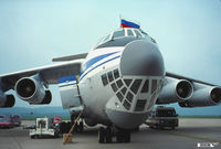 CCCP-76708 @ KMDT - Russian Federation (CIS) North American Airshow Tour, support aircraft. IL-76MD CCCP-76708 - by John Hevesi