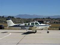N10L @ CMA - 1972 BEECH A36 BONANZA, Continental IO-520 285 Hp, taxi - by Doug Robertson