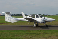 G-DSKY @ EGTK - Diamond DA 42, c/n: 42-084 used callsign White Knight 2