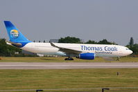 OY-VKF @ EGCC - Thomas Cook Airlines Scandinavia - by Chris Hall