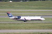 N412AW @ DTW - US Airways Express CRJ-200