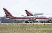 N710CK @ OSC - Kalitta 747-200 - by Florida Metal