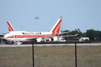 N741CK @ OSC - Kalitta 747-400