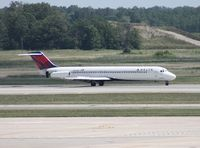 N760NC @ DTW - Delta DC-9-51 - by Florida Metal