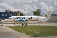 C-GTWG @ CYXE - Transwest Air B1900 - by Andy Graf-VAP