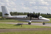 C-FTSU @ CYLB - DHC-6 - by Andy Graf-VAP