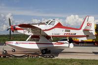 C-GAAG @ CYLB - Conair Air Tractor AT-802 - by Andy Graf-VAP