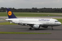 D-AILW @ EDDL - Lufthansa, Airbus A319-114, CN: 853, Aircraft Name: Donaueschingen - by Air-Micha