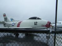 141393 @ KHKY - Possible a North American F-86 Sabre - by J.B. Barbour