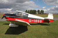 G-IOSO @ EGBR - Jodel DR1050 at Breighton Airfield during the September 2010 Helicopter Fly-In. - by Malcolm Clarke
