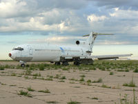 N4730 @ AMA - Former Pam Am 727 at Amarillo - this airframe is currently used for law enforcement and fire department training.