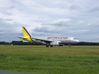D-AGWB @ EDI - Germanwings A319 Arrives at EDI From CGN - by Mike stanners