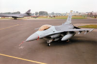 91-0373 @ EGVA - Another view of Trend 64, an F-16C Falcon of 20th Fighter Wing at Shaw AFB on the flight-line at the 1997 Intnl Air Tattoo at RAF Fairford. - by Peter Nicholson
